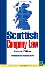 Scottish Company Law,Nicholas Bourne, Brian Pillans