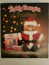 LN Vintage 1985 Teddy Ruxpin Christmas Set Outfit Book Tape