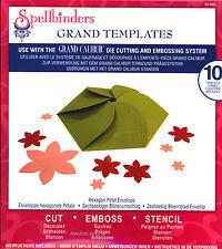 Spellbinders Grand Templates Hexagon Petal Envelope paper cardstock dies Lf-007