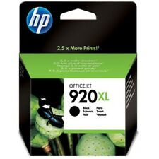 Original HP 920XL schwarz OFFICEJET 6000SE 6500A DRUCKER PATRONE MHD abgelaufen!