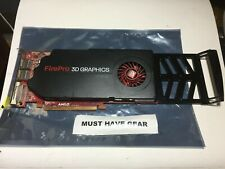 AMD FirePro 3D Graphics V5800 1GB Video Graphics Card 6RN0Y 2X DP DVI FREE SHIP