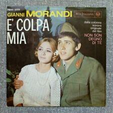 "GIANNI MORANDI ""È Colpa Mia / Si fa Sera"" DISCO 45 giri RCA 1965"