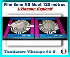 *** FILM 8MM NB MUET 120 METRES - L'HOMME EXPLOSIF/COMEDIE 1949 / JEAN TISSIER**