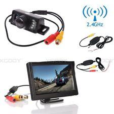 """5"""" LCD Monitor Display + Reversing Camera 120° Car Truck Rear View Parking Kits"""