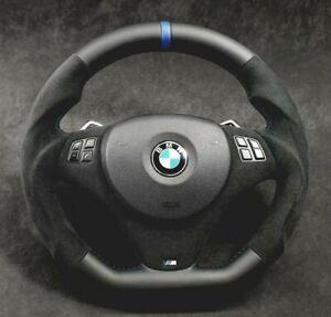 BMW Steering Wheel custom flat bottom E90 E92 M3 328i 330i 335i 128i 135i Paddle