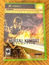 Mortal Kombat: Deception - Scorpion Version (Kollector's Edition) (Xbox) VG CIB