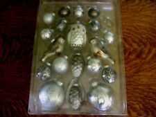 Pottery Barn Silver Critters Ornament SET/20 ~ SOLD OUT@PB