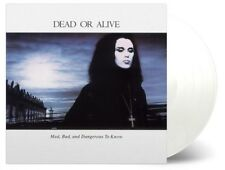 Dead Or Alive - Mad, Bad & Dangerous To Know - White/Transparent Vinyl LP *NEW*