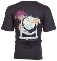 TOMMY BAHAMA Mens T-Shirt TAKE IT ONE SWAY AT A TIME Relax Fit CHARCOAL Camp $45
