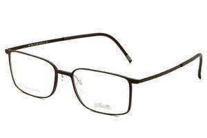 Silhouette Eyeglasses Urban Lite 2884 6054 Black Full Rim Optical Frame