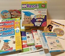 Your Baby Can Read - Early Language Development w/all DVDs, Books, Cards! EUC