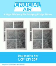 4 Replacements Fit LG / Kenmore Fridge Filters Part # LT120F