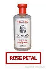 💜💝Thayers® Rose Petal Witch Hazel Alcohol Free Toner with Aloe Vera ,355ml💜❤️