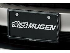 JDM OEM License Plate Cover Trim MUGEN POWER HONDA Front 1PC TYPE R CIVIC JAPAN