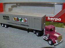 1/87 Herpa Peterbilt Nitrol Process Food US Truck 141352