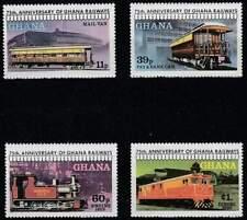 Ghana postfris 1978 MNH 783-786 - Treinen / Train