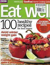 BBC Eat Well Magazine 100 Healthy Recipes Diet Special Comfort Food Makeover
