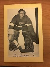 1944/64 BEEHIVE SYRUP GROUP 2 HOCKEY PHOTO TERRY SAWCHUCK RED WINGS BEE HIVE