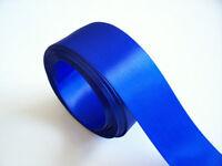 "Royal Blue Ribbon, Royal Blue Satin Ribbon 1 1/2"" wide x 10 yards, Double-Face"
