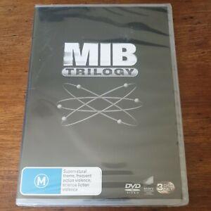 Men In Black Trilogy DVD R4 BRAND NEW SEALED! FREE POST