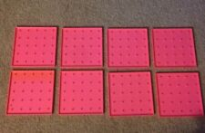 Lot 9 Creative Publications X-Y Coordinate GeoBoard 00000365  Activity Single Sided Pink
