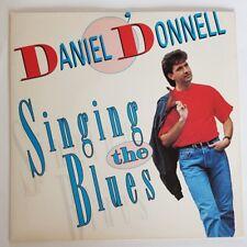 Original Irish Issue Single, Singing The Blues by Daniel O'Donnell