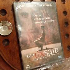 The Unsaid Sotto Silenzio Slim Case  Dvd Nuovo
