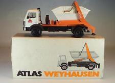 Conrad 1/50 Mercedes Benz Atlas Weyhausen Absetzkipper Werbemodell OVP #1279