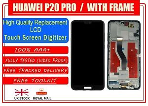 For Huawei P20 Pro Replacement LCD TFT Display Digitiser Touch Screen WITH FRAME