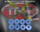 TRC1749 Light Blue RC Body Protection Washers 8 Pack R/C BOGO FREE