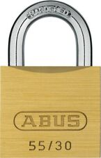 Abus 55/30 30mm Brass Padlock Keyed Alike 5301