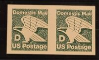 US Mint Stamp Errors - Scott 2112a - D (22c) Eagle  Imperf Pair - NH