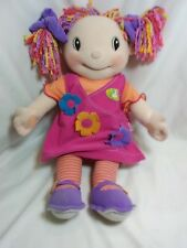 "Maggie Raggies Sweetie Singer Doll Zapf Creations 18"" Squeeze Tested Works"