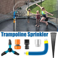 360° Trampoline Sprinklers Kids Fun Summer Outdoor Water Park Game Sprinkler Kit
