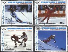 Mauretanien 912-915 (kompl.Ausg.) gestempelt 1988 Goldmedaillengewinner