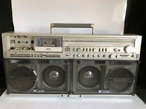 Sharp GF-777 Stereo Boombox Cassette Old School
