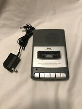 Rca Rp3503 Personal Portable Cassette Tape Recorder Player