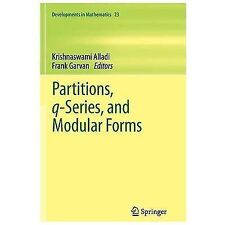 Developments in Mathematics: Partitions, Q-Series, and Modular Forms 23...