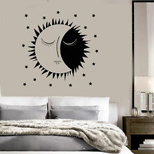 Vinyl Wall Decal Sun Stars Dreams Bedroom Art Decor Stickers (ig3853)