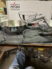 All-Clad 2 Qt. Saucier With Whisk, Silver