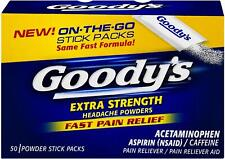 Goody's Extra Strength Headache Powders 50 ea (Pack of 2)