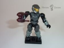 Halo Mega Bloks Series 7 UNSC Silver Spartan Mark V with Plasma Rifle (Rare)