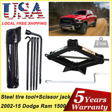 Spare Tire Tools Kit + Scissor Jack For For 2015 2014 2013 2012 Dodge Ram 1500