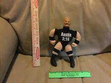 1999 WWF WWE Stone Cold Steve Austin Mini Wrestling Buddy Storage Keychain