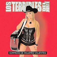 Los Terribles Del Norte : Corridos De Mujeres Valientes CD