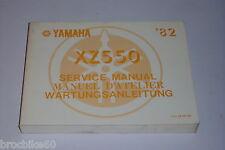 MANUEL REVUE TECHNIQUE D ATELIER  YAMAHA XZ 550 1982->
