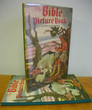 THE BIBLE PICTURE BOOK Illustrated by Florian, circa 1950 in DJ