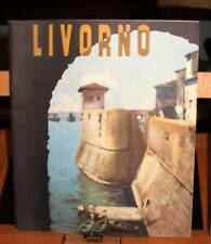 1938 Depliant turistico LIVORNO / Enit /in inglese