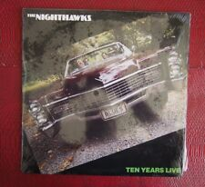 LP - The Nighthawks, Ten Years Live - 1983 Varrick Records 001 Canadian Release