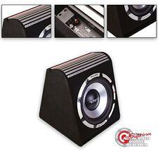 """Vibe 8"""" SUBWOOFER AMPLIFICATO Pulse recinto ATTIVO AUTO SUB AMP BOX + KIT DI CABLAGGIO"""